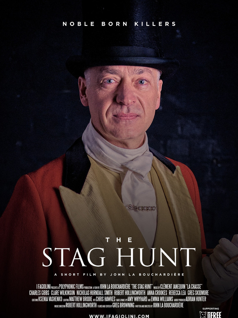 The Stag Hunt: Charles Gibbs as the King