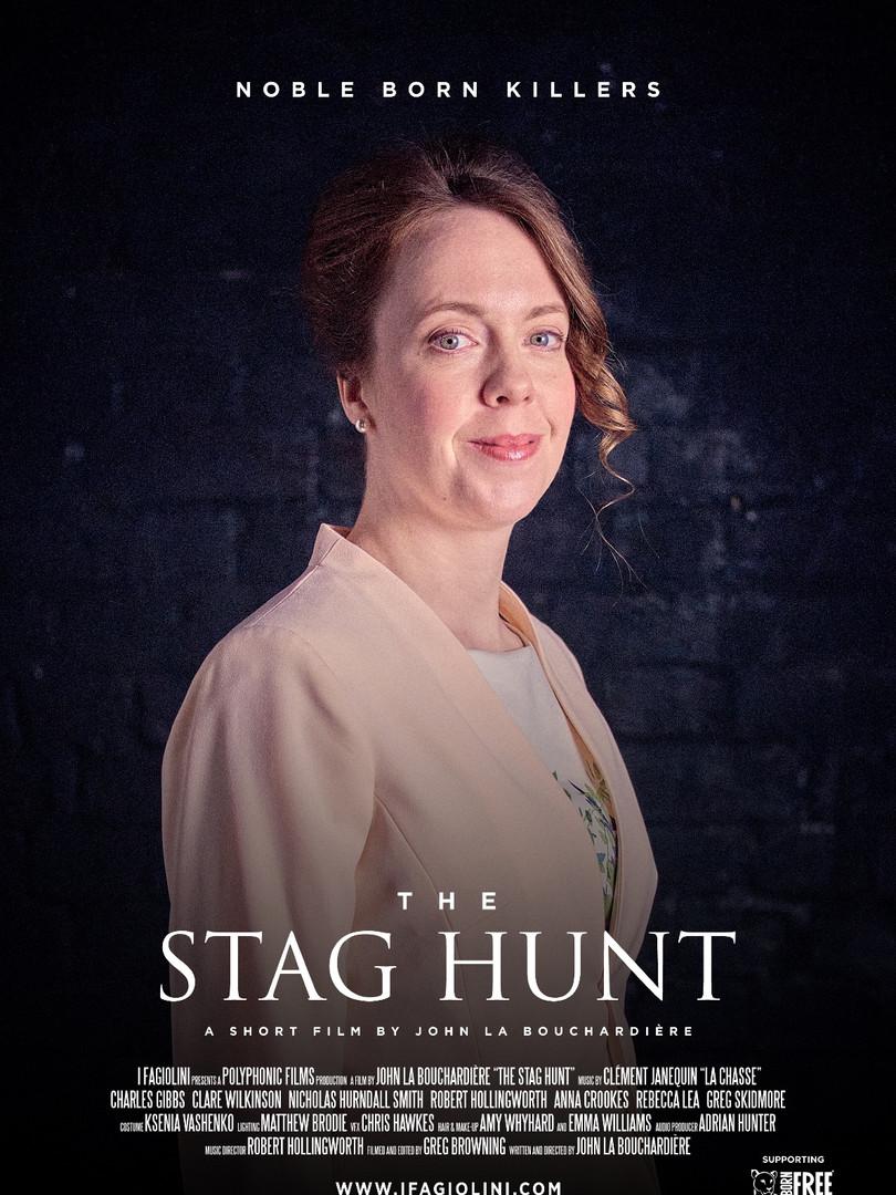 The Stag Hunt: Rebecca Lea as the Duchess
