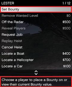 Set Bounty