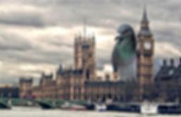 Attaque du pigeon géant à Londres