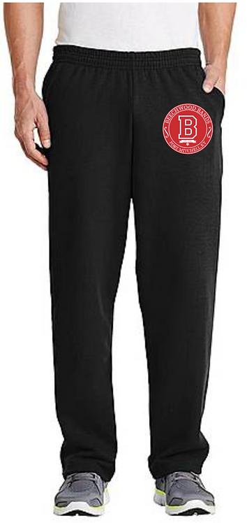 Crest Fleece Sweatpants with Pockets