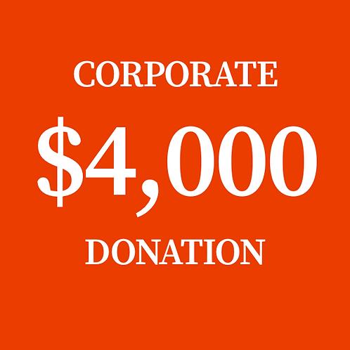 $4,000 Donation