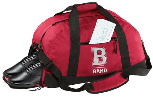 """B"" Band Duffel Bag"