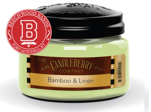 Bamboo & Linen Candle