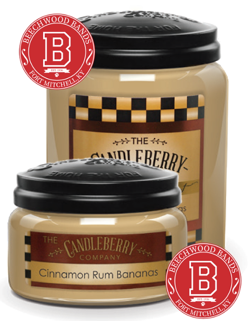 Cinnamon Rum Bananas Candle