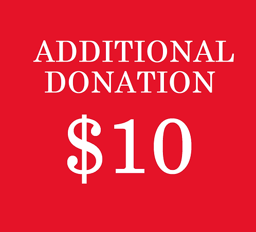 $10 Additional Donation