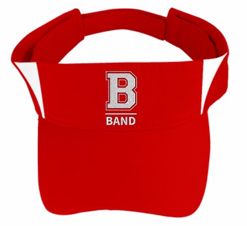 """""""B"""" Band Sport-Tek Visor"""