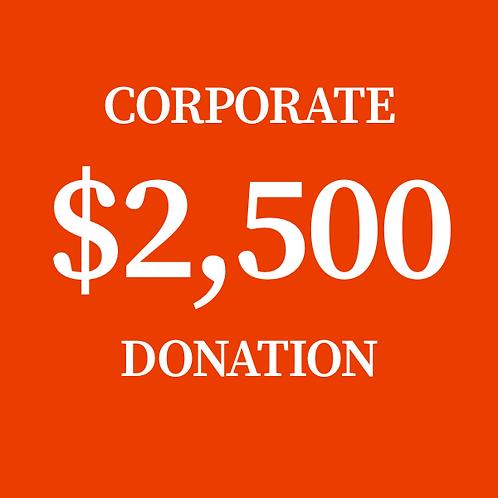$2,500 Donation