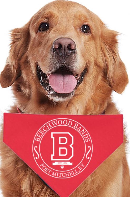 Crest Doggie Bandanna