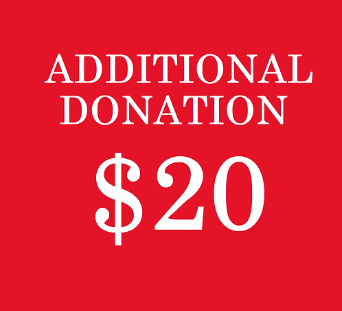 $20 Additional Donation
