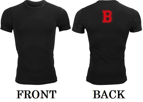 """B"" Compression Shirt"