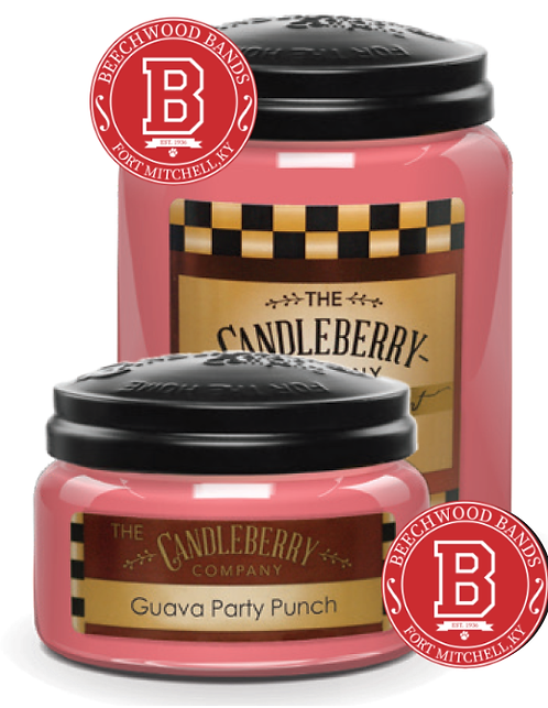 Guava Party Punch Candle