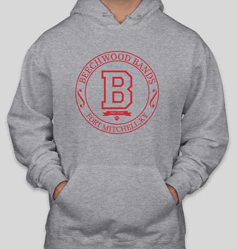 Crest Pullover Hooded Sweatshirt