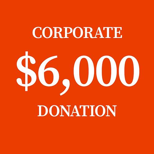$6,000 Donation