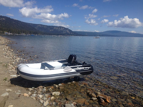 Lake Tahoe Beachmaster Launching wheels