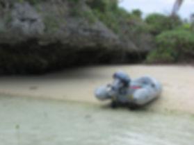 Zodiac inflatable wheels