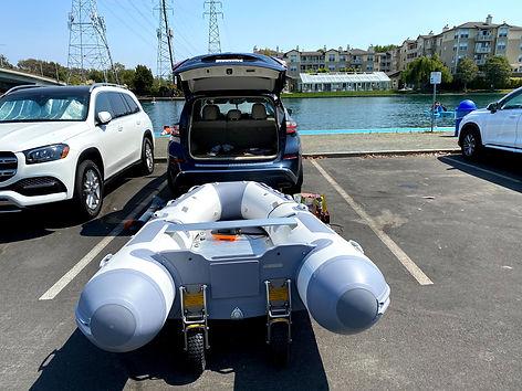 Zodiac Boat wheels California