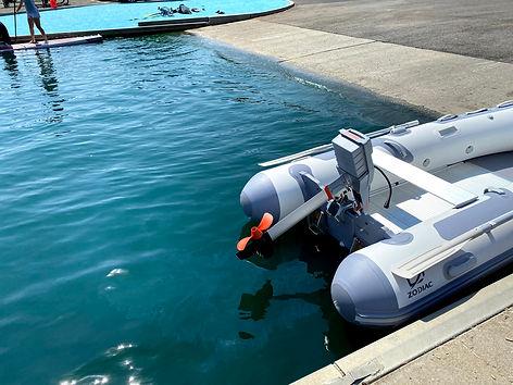 Zodiac inflatable boat wheels USA