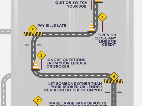 10 Roadblocks When Closing Your Mortgage