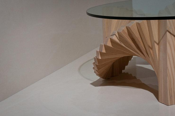 Ballerina Coffee Table, Ash. SimonYoung Design, Bespoke Furniture, London