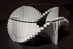 Twist coffee Table, designer coffee table