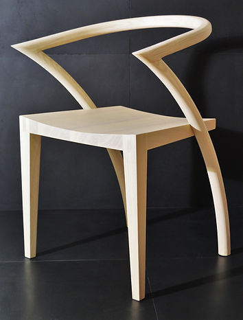 Contemporary Asia Chair, design dining chair, wood