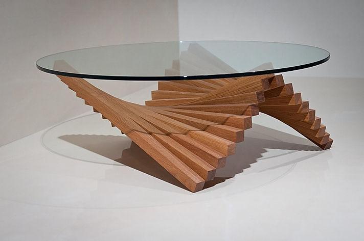 Contemporary coffee table, design