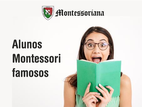 Alunos Montessori famosos