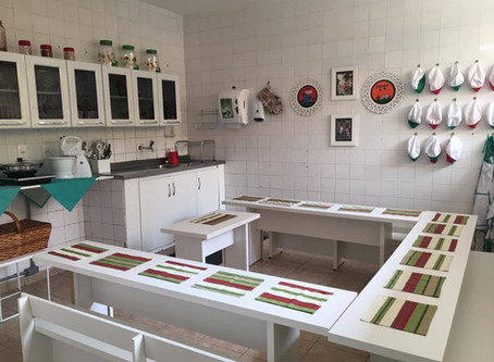Ambiente preparado ao estilo Montessori