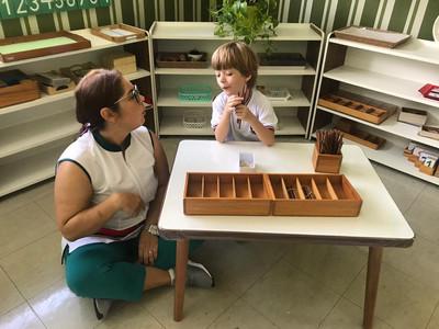 preparação indireta método montessori