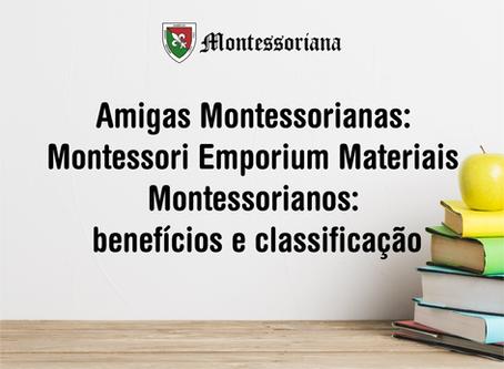 Materiais Montessorianos: benefícios e classificação