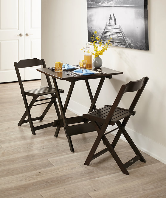 Square Table Set with 4 Chairs