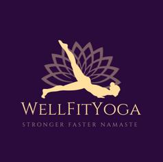 Well Fit Yoga Logo Design
