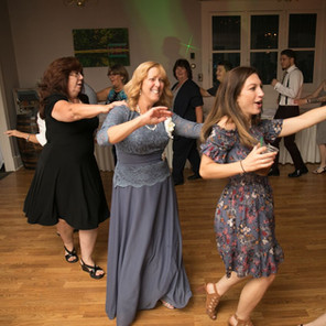Everyone loves a line dance