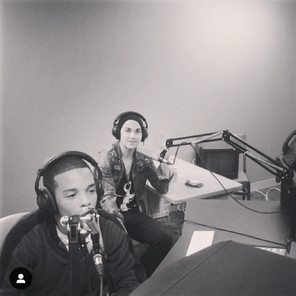One of my first radio interview w/ Makeshift Prodigy