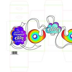 Scotch Tape Packaging Design