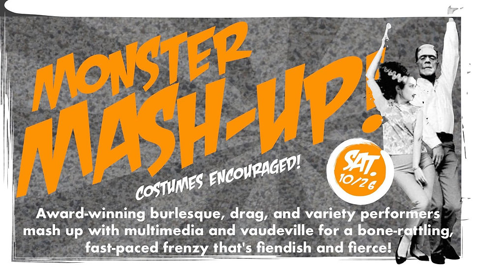 The Newport Theater's Monster Mash-Up!