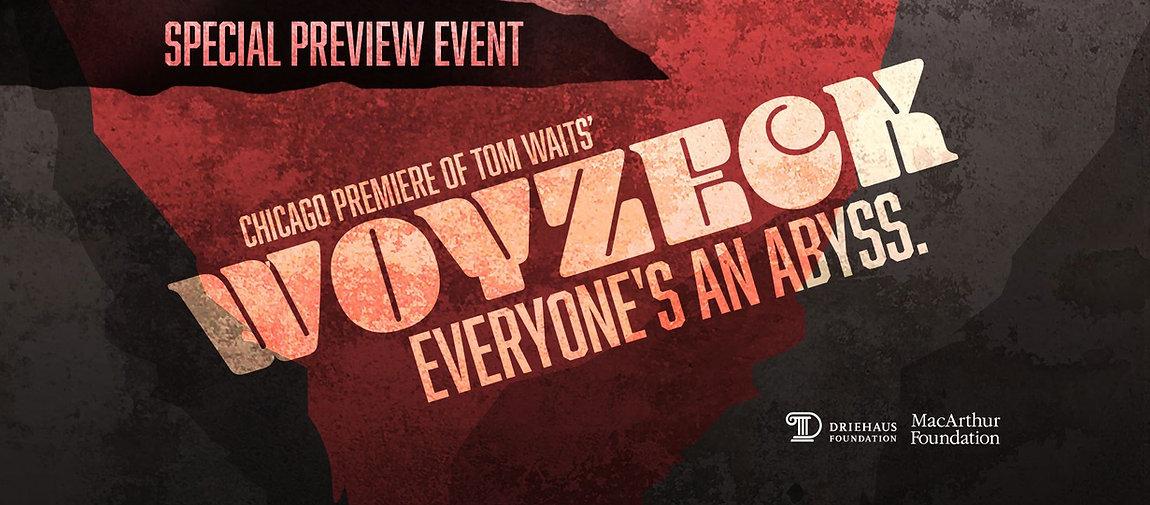 Chicago Fringe Opera: Tom Waits' Woyzeck Special Preview