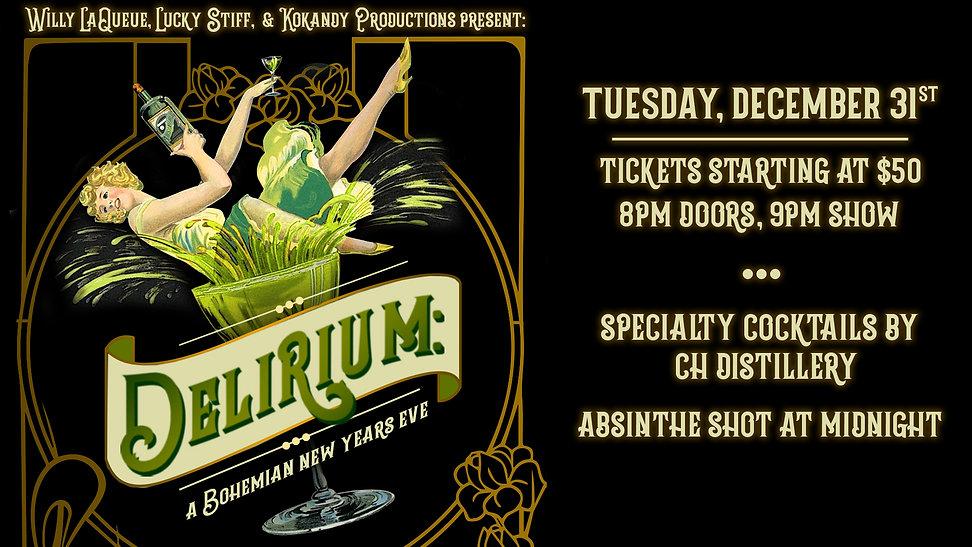 Delirium: A Bohemian NYE