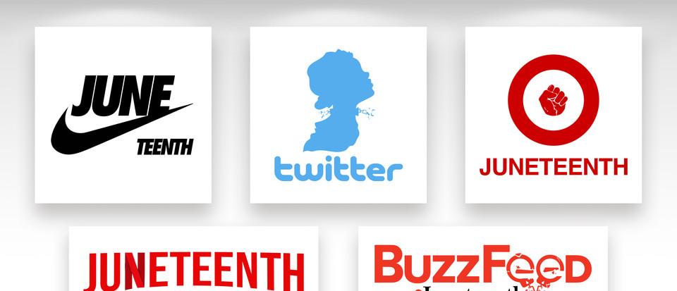 Juneteenth Logos