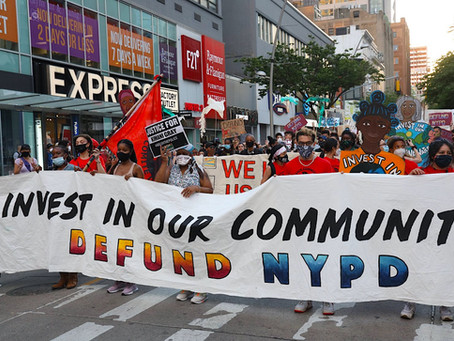 With FY22 Budget Vote NYC Council Fails New Yorkers by Reinforcing the Racist Status Quo