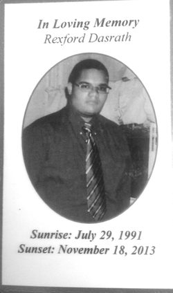 Rexford Dasrath killed by NYPD 11/14