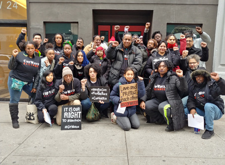 """Grassroots Groups Train NYers to Protect Each Other from Police Violence Thru """"CopWatch"""" in Subway"""