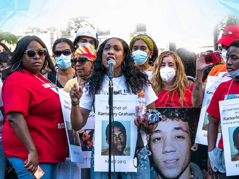 Families of NYers Killed by NYPD Demand Halt on New Easier-to-Shoot NYPD Guns in Letter to Mayor