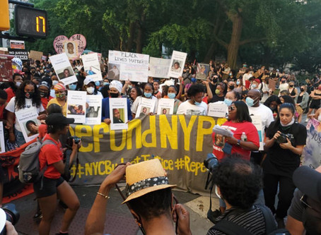 Families to Mayor, Speaker & Council: No Funny Math! Cut FY21 NYPD Expense Budget Directly by $1B!