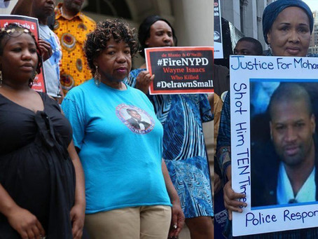 Hypocrite de Blasio Only Meets with Families of Police Killing Victims When it Benefits Him