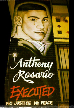 Anthony Rosario killed by NYPD 1/95