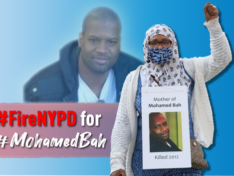 Mom of Mohamed Bah Denounces NYPD Legal Stunt to Stop CCRB Probe