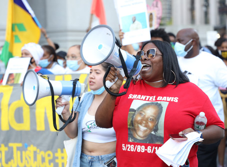 Fams of NYers Killed by Police Lead Action to Defund NYPD, End Police Secrecy, Demand Accountability