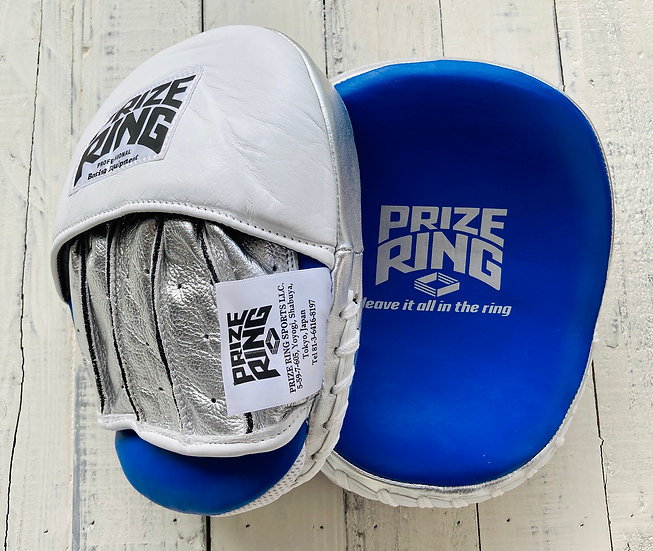 PRIZE RING Focus mitt Blue/Silver